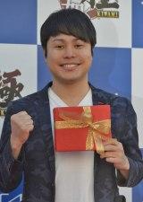 PS4ゲーム『龍が如く 極』のイベントに出席したNON STYLEの井上裕介 (C)ORICON NewS inc.