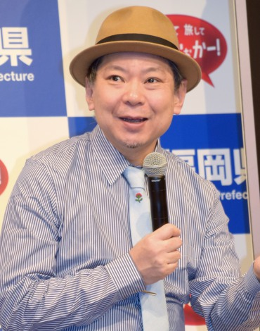 福岡県観光プロモーション記者発表会見に出席した鈴木おさむ (C)ORICON NewS inc.