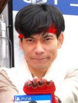 PS4ゲームソフト『ストリートファイターV』発売記念「喰らえ、波動拳!キャンペーン発表会』に出席したインパルス・板倉俊之 (C)ORICON NewS inc.