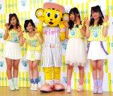 「NMB48が阪神タイガースを可愛く応援! TORACO応援隊長」就任発表記者会見の模様 (C)ORICON NewS inc.