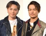三代目 J Soul Brothersの(左から)登坂広臣&今市隆二が歌詞を初共作 (C)ORICON NewS inc.