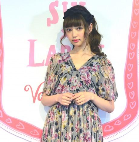 サムネイル ANNA SUI×LARMEのバレンタインイベントに登場した中村里砂 (C)oricon ME inc.