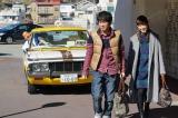 『素敵な選TAXI』スペシャル版(関西テレビ・フジテレビ系)の放送日は4月5日。瀧本美織と山崎樹範が婚前旅行中のカップルに(C)関西テレビ