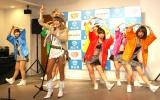 ご当地ソング「もんげー岡山!」ダンスバージョンを披露 (C)ORICON NewS inc.