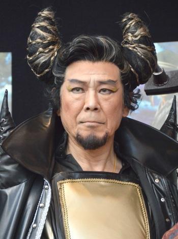 喜矢武に舞台裏暴露された西岡徳馬 =舞台『GOKU』公開リハーサル (C)ORICON NewS inc.
