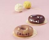 キュートな猫ドーナツが登場!「チョコちゃん」と「クロ」(右)