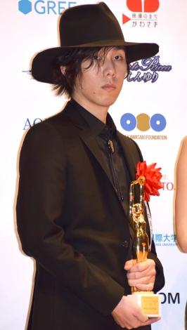 『第70回毎日映画コンクール』新人賞を受賞したRADWIMPS・野田洋次郎 (C)ORICON NewS inc.