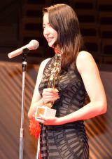 『第70回毎日映画コンクール』表彰式に出席した長澤まさみ (C)ORICON NewS inc.