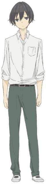 小野賢章が演じる田中 (C) ウダノゾミ/スクウェアエニックス・製作委員会はいつもけだるげ