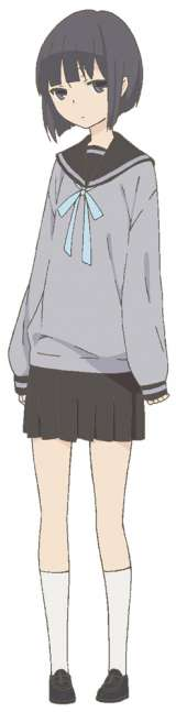 悠木碧が演じる莉乃 (C) ウダノゾミ/スクウェアエニックス・製作委員会はいつもけだるげ