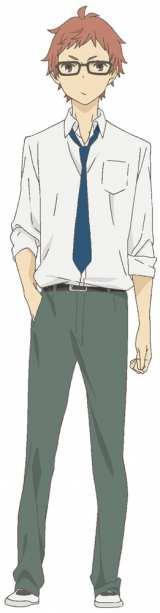 興津和幸を演じる志村 (C) ウダノゾミ/スクウェアエニックス・製作委員会はいつもけだるげ