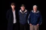 (左から)クリス・パイン、メル・ガスロ氏、アンディ・フィッツジェラルド氏(C)Disney Enterprises, Inc. All Rights Reserved.