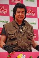 現在放送中の大河ドラマ『真田丸』で猛将演じる藤岡弘、(69)、3月公開の映画『仮面ライダー1号』では主演を演じる。