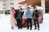 2月20日放送、TBS系『ロンブー淳の一度は行きたい!武将の隠し湯 真田幸村も入った!?最強温泉SP』出演者(C)SBC