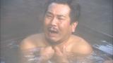 2月20日放送、TBS系『ロンブー淳の一度は行きたい!武将の隠し湯 真田幸村も入った!?最強温泉SP』草津温泉の藤本(C)SBC
