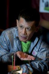 『ディアスポリス‐異邦警察‐』に出演する柳沢慎吾。眉毛をそり落として役作りに挑んだ (C)リチャード・ウー,すぎむらしんいち・講談社/「ディアスポリス」製作委員会