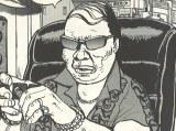 『ディアスポリス‐異邦警察‐』で康芳夫が演じるコテツ (C)すぎむらしんいち/リチャード・ウー/講談社