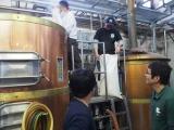 東北魂ビール醸造の様子