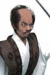 宮本武蔵役の竹下健人=舞台『磯部磯兵衛物語〜浮世はつらいよ〜』