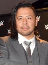 WWEと契約した中邑真輔選手 (C)ORICON NewS inc.