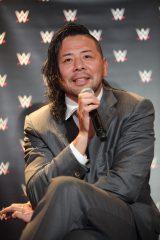 WWEと契約した中邑真輔選手の会見の模様