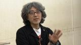 小学校の部の課題曲「ぼくらのエコー」の作詞を手がけた絵本作家の荒井良二氏(C)NHK
