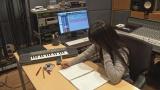 『発表!Nコン2016課題曲』NHK・Eテレで2月28日放送。課題曲を制作中のmiwa(C)NHK