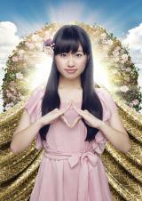 ももいろクローバーZの佐々木彩夏(4thアルバム『白金の夜明け』ビジュアル)