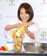 料理教室に通い始めたことを明かした相武紗季 (C)ORICON NewS inc.