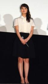 映画『あやしい彼女』完成披露試写会に出席した主演の多部未華子 (C)ORICON NewS inc.