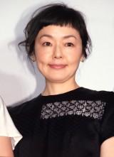 映画『あやしい彼女』完成披露試写会に出席した小林聡美 (C)ORICON NewS inc.