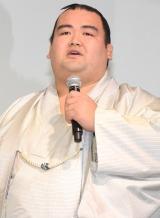 映画『ジュラシック・ワールド』ブルーレイ&DVDリリース記念イベントに登場した琴奨菊 (C)ORICON NewS inc.