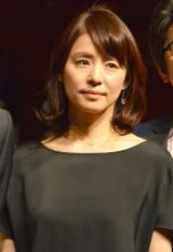 映画『僕だけがいない街』完成披露試写会に登壇した石田ゆり子 (C)ORICON NewS inc.