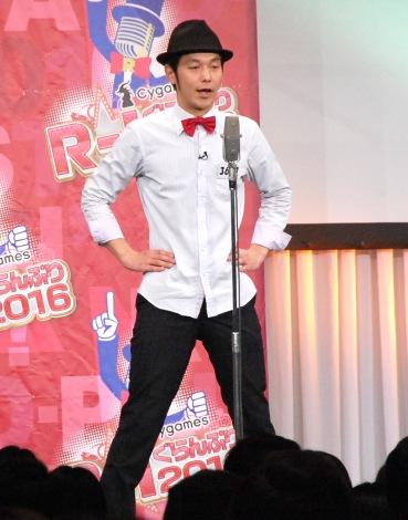 『Cygames R-1ぐらんぷり2016』準決勝に出場したキャプテン渡辺 (C)ORICON NewS inc.