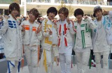 新曲「友達と呼べる君へ」発売記念イベントに出席した風男塾 (C)ORICON NewS inc.