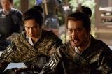 NHK大河ドラマ『真田丸』第8回「調略」より。昌幸が北条についたと知った景勝は信尹(栗原英雄)を呼び出して…(C)NHK