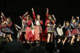 福岡マリンメッセで握手会を行ったHTK48