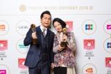 主要賞「ARTIST OF THE YEAR」、部門賞「BEST POP ARTIST」の2冠に輝いたDREAMS COME TRUE