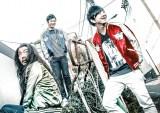 VANQUISHのイメージモデルに起用されたパンサー(左から)菅良太郎、尾形貴弘、向井慧