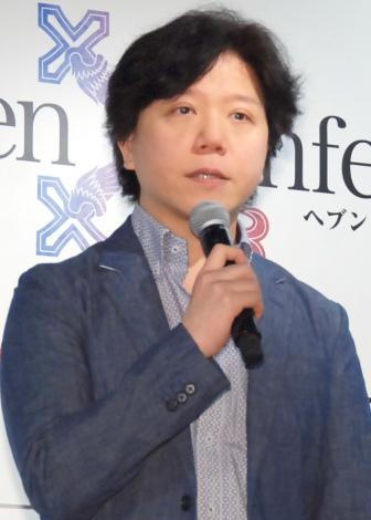 ゲーム『Heaven×Inferno(ヘブン×インフェルノ)』の記者発表会に出席した杉山紀彰 (C)ORICON NewS inc.