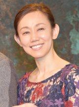 舞台『蝶子と吉治郎の家』『春の祭典』の囲み会見に出席した紫とも (C)ORICON NewS inc.