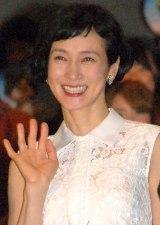 映画『アーロと少年』友情プレミア試写会に出席した安田成美
