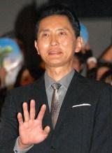 映画『アーロと少年』友情プレミア試写会に出席した松重豊