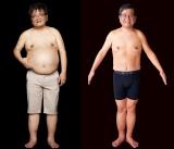 減量前はぽっちゃりお腹…森永卓郎氏のビフォー・アフター