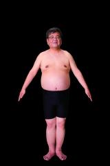 ライザップに挑戦する前の森永卓郎氏