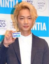 『ミンティア』20周年記念イベントに出席した綾野剛 (C)ORICON NewS inc.
