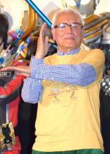 映画『劇場版 ウルトラマンX』記念イベントに出席した黒部進 (C)ORICON NewS inc.