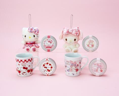 サムネイル ハローキティとマイメロディがお茶専門店「LUPICIA」とコラボしたキュートなギフトセット