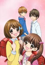 テレビアニメ『12歳。』ビジュアル (C)まいた菜穂・小学館/アニメ「12歳。」製作委員会
