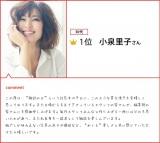 『第2回 カバーガールズ大賞』 小泉里子コメント